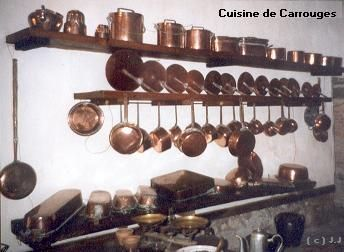Cuisine normande for Batterie de casseroles en cuivre